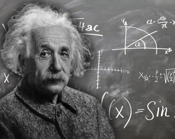 Der Physiker Albert Einstein.