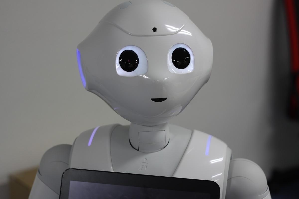 Pepper ist ein companion robot und dazu da mit Menschen zu interagieren.