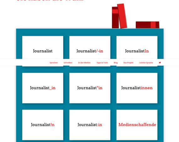 Kann man auch Technikartikel mit Hilfe von genderleicht.de (um-)schreiben?