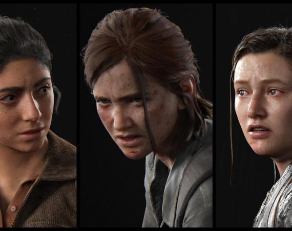 Porträts drei weiblicher Video-Spielcharaktere aus dem Spiel The Last of Us